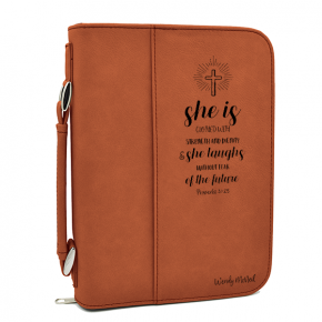 Rustic Personalized Small Bible Case