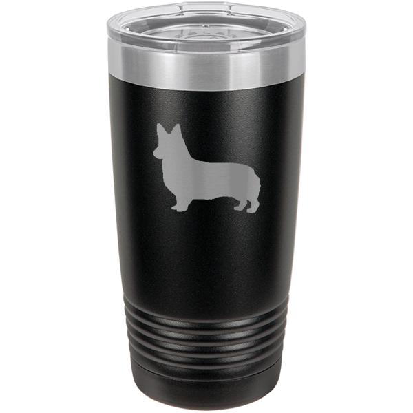 Love My Corgi 30 Oz Hot /& Cold Vacuum Tumbler   Laser Engraved   13 Colors Available  Corgi Mom Gift  Present for Corgi Owner