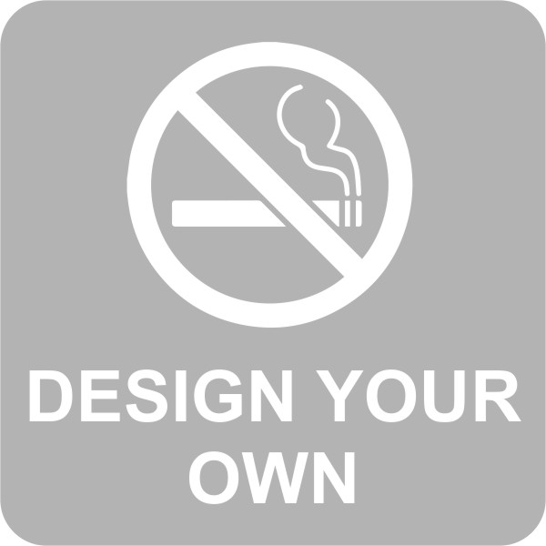 Design Your Own Engraved Custom No Smoking Sign