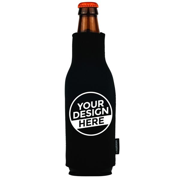 Koozie® Neoprene Zip-Up Bottle Kooler