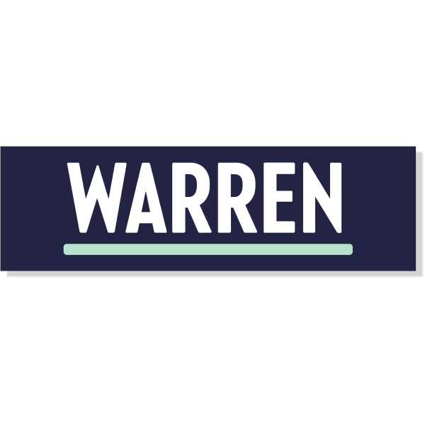 "Elizabeth Warren Presidental Campaign Bumper Sticker   3"" x 10"""