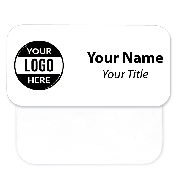 """Engraved Name Tag with Pocket Badge Adapter - 1.5"""" x 3"""""""