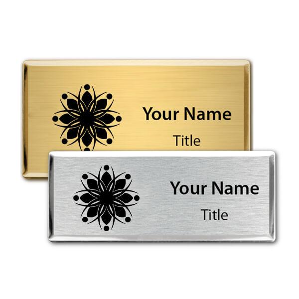 Engraved Executive Beveled Badges