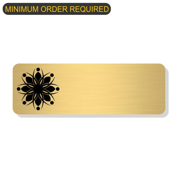 Engraved Logo Economy Name Tag Bundle