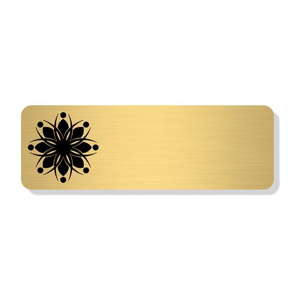 Engraved Logo Economy Name Tag