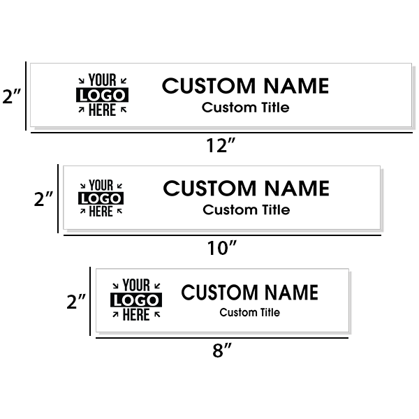 Insert Only for Traditional Aluminum Nameplate Holders | Engraved