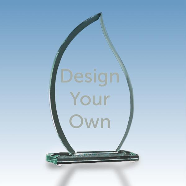 Flame Glass Award G2302