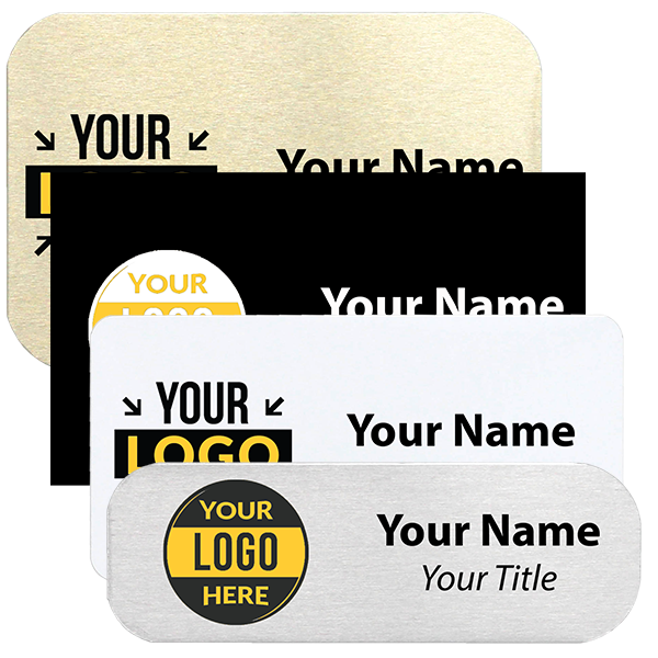 Full Color Rectangle Name Tag | New Wizard