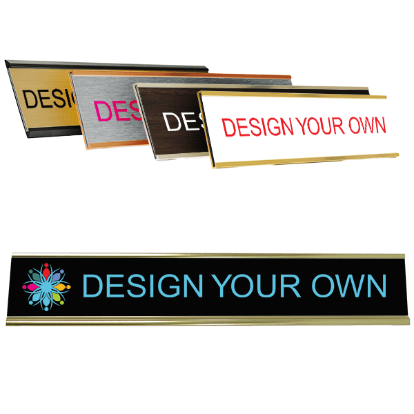 """Full Color Wall Name Plate - 2"""" x 12"""""""