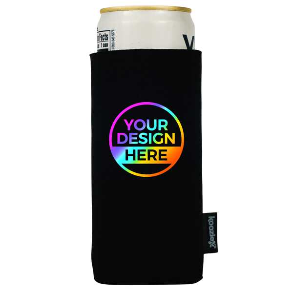 Full Color Koozie® Collapsible Slim Can Single Sided Kooler