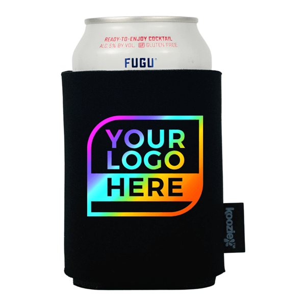 FULL COLOR Logo Koozie® Single Sided Foam Can Cooler