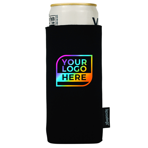 FULL COLOR Logo Koozie® Collapsible Slim Can Single Sided Kooler