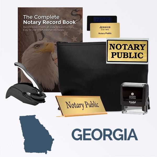 Georgia Deluxe Notary Kit