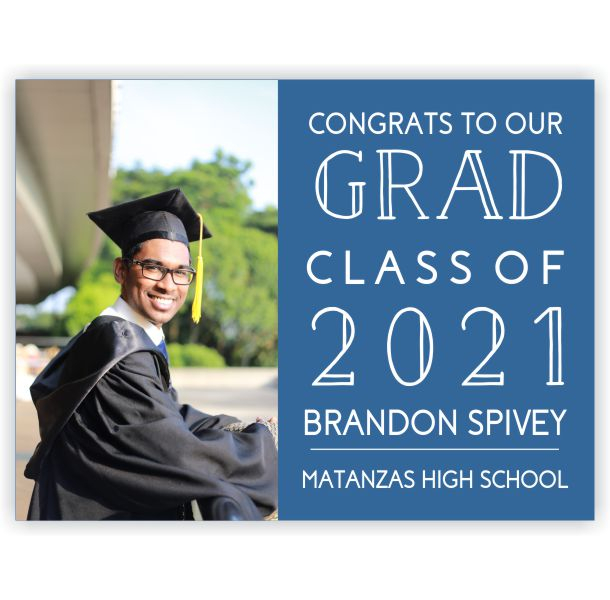 Congrats to Our Grad | Graduation Yard Sign