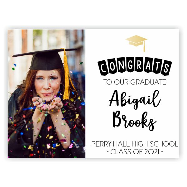 Congrats to Our Graduate | Graduation Yard Sign