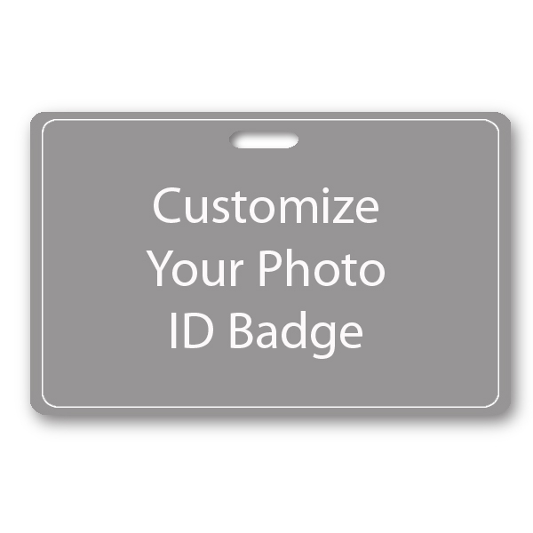 Custom Horizontal ID Card