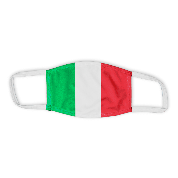 Flag of Italy Child Size Face Mask