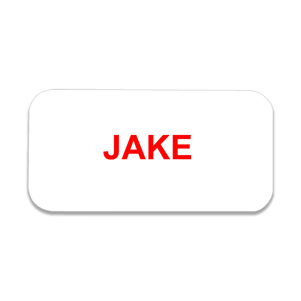 Jake From State Farm Costume Name Tag With Logo