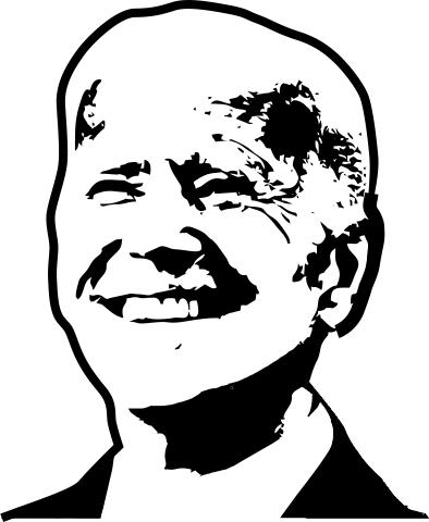 Joe Biden Political Figure Stamp