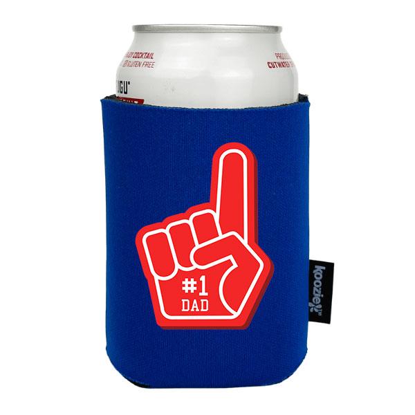 Koozie® #1 Dad Foam Finger Drink Cooler
