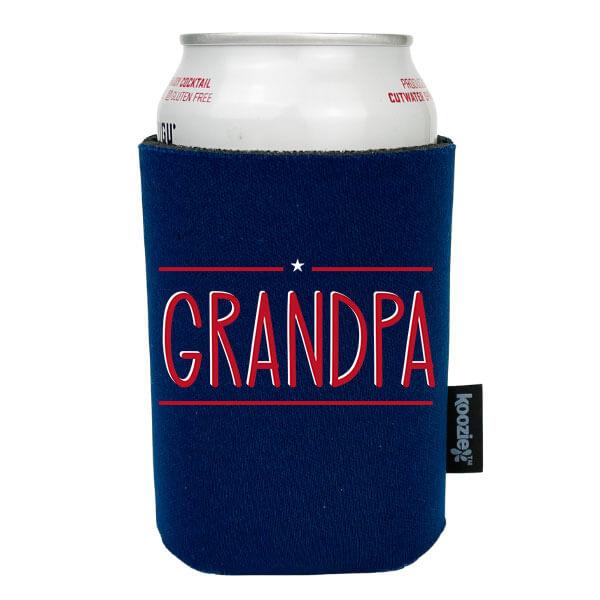 Koozie® Grandpa With Star Drink Cooler