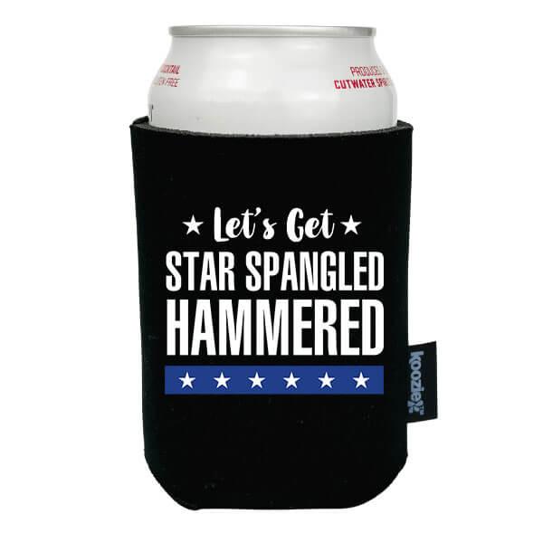 Koozie® Star Spangled Hammered Patriotic Drink Cooler