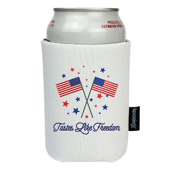 Koozie® Tastes Like Freedom Patriotic Drink Cooler