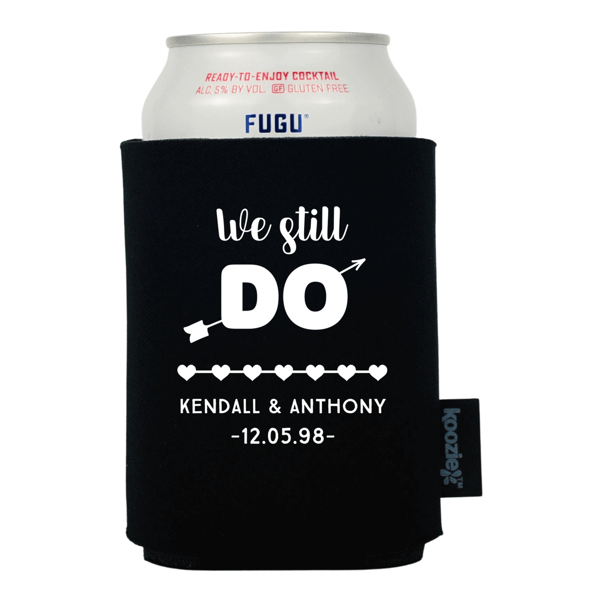 Koozie® We Still Do Anniversary Drink Cooler
