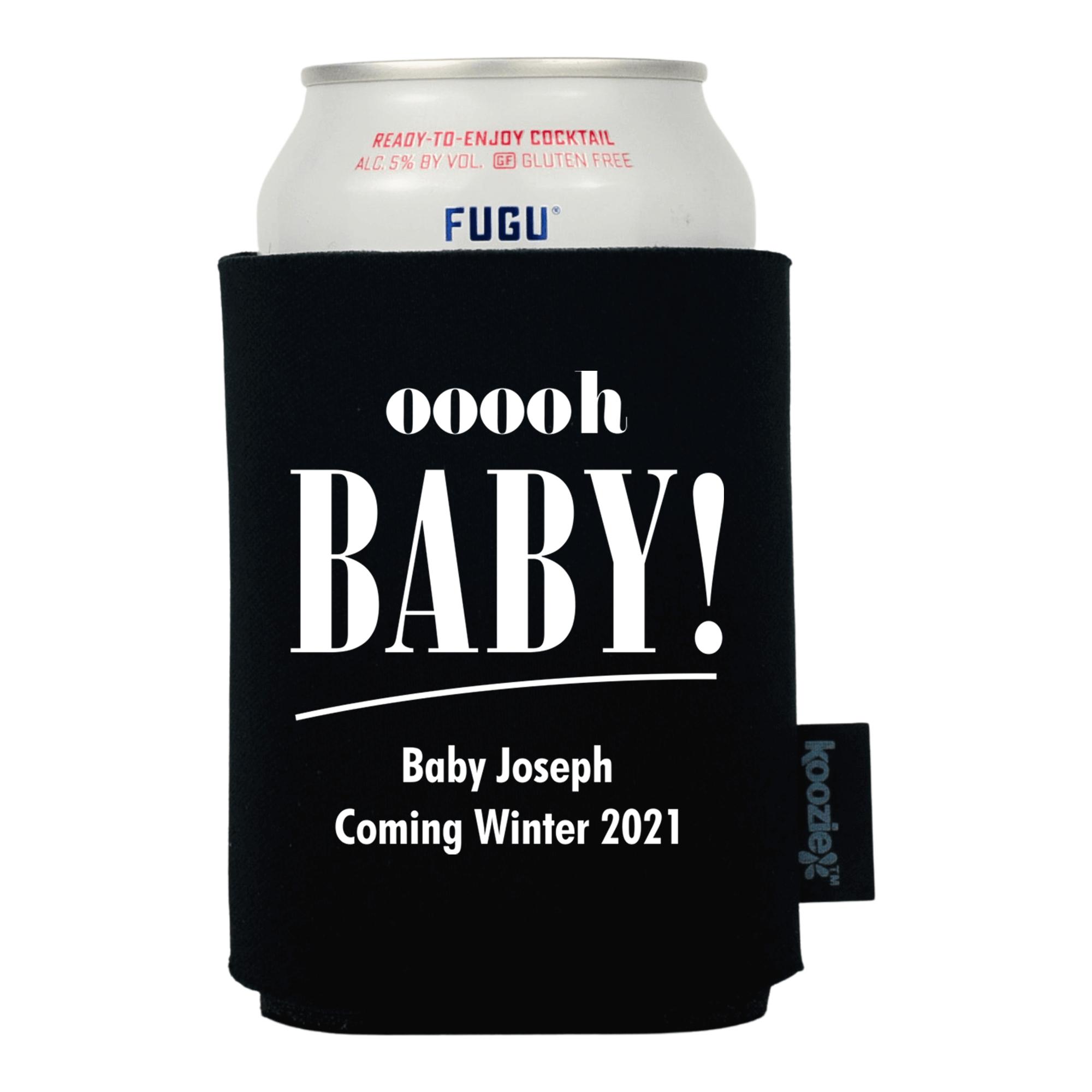 Koozie® Ooooh Baby! Baby Shower Drink Cooler