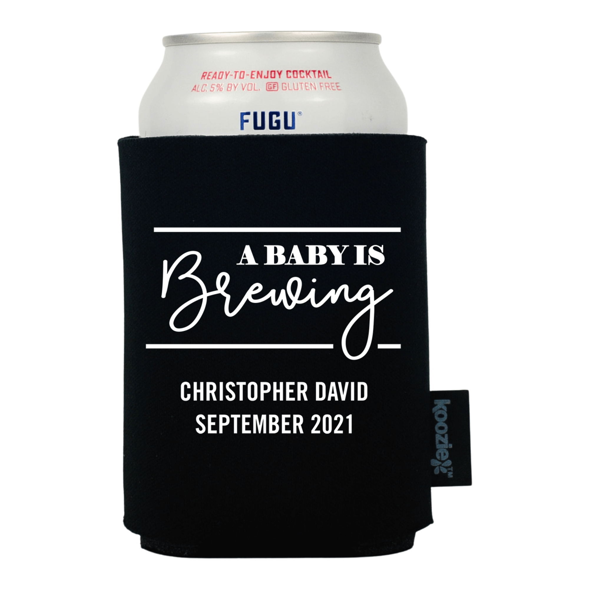 Koozie® A Baby is Brewing Baby Shower Drink Cooler