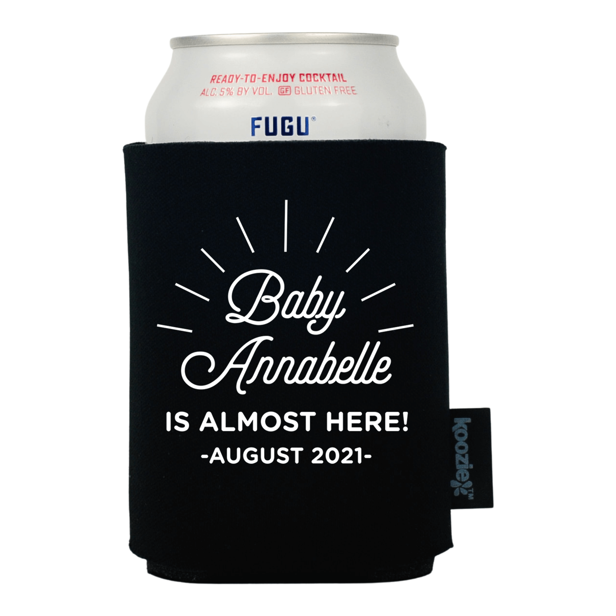 Koozie® Baby is Almost Here Baby Shower Drink Cooler