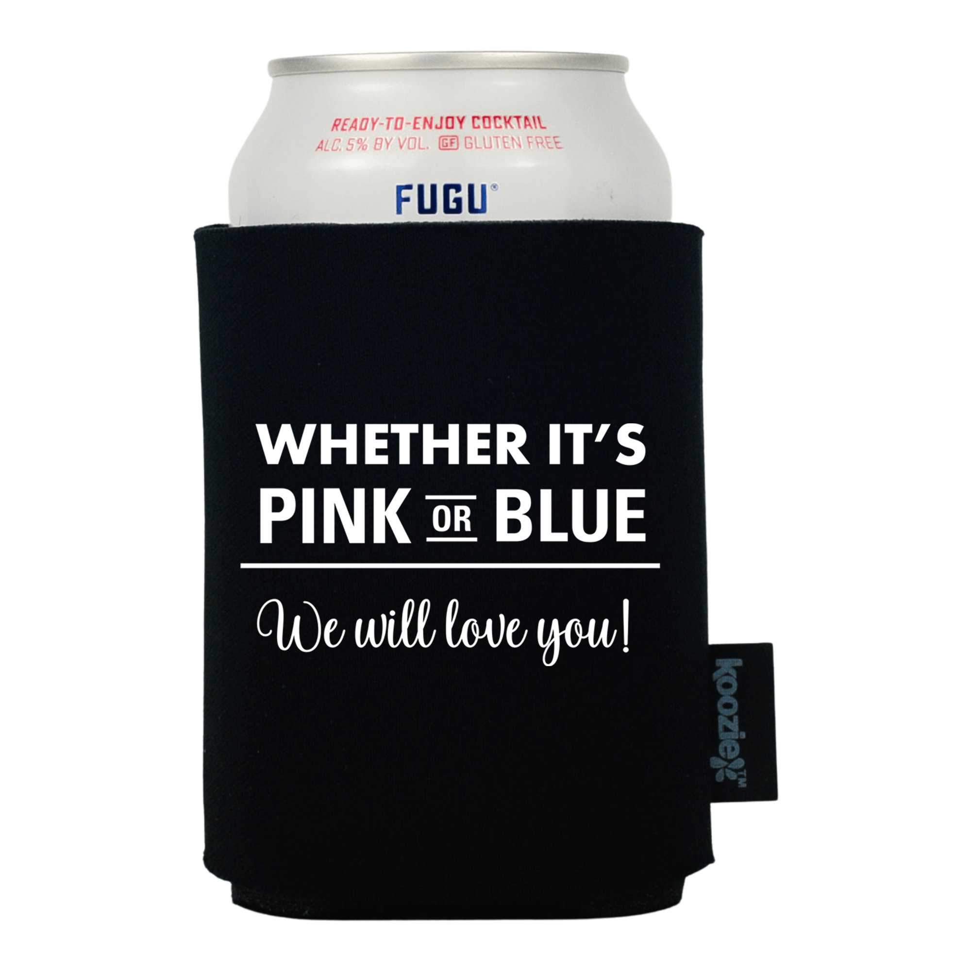 Koozie® We Will Love You Baby Shower Drink Cooler