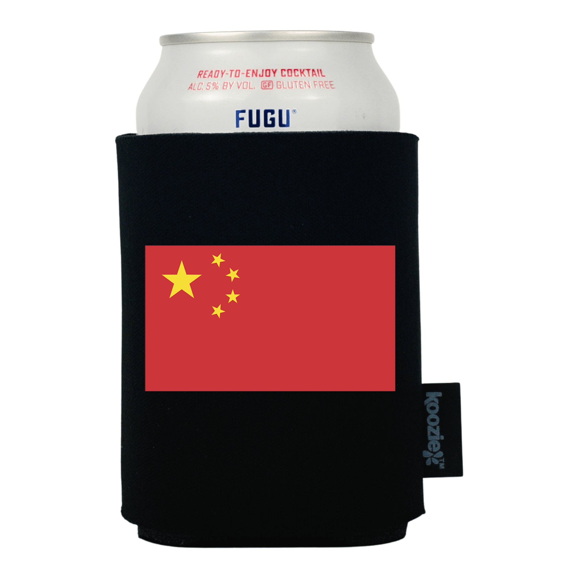Koozie® China Country Flag Drink Cooler