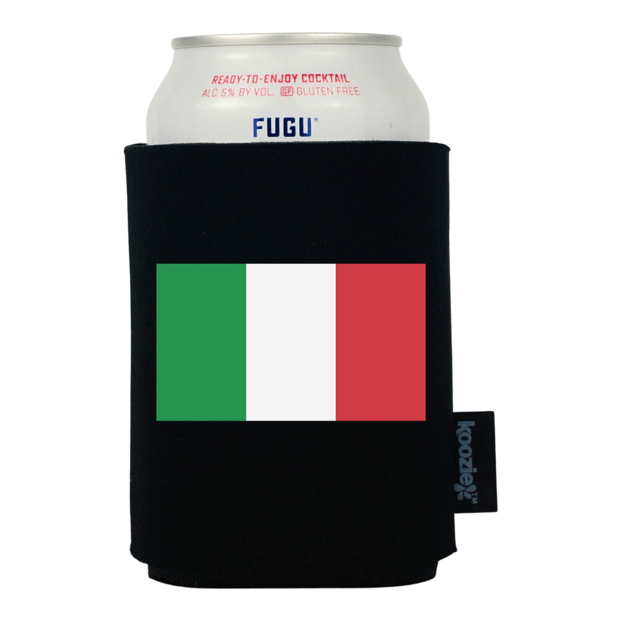 Koozie® Italy Country Flag Drink Cooler