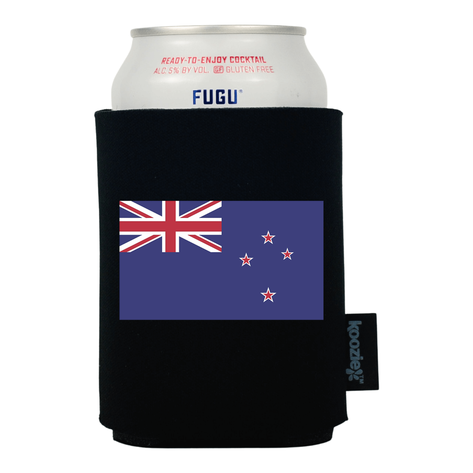 Koozie® New Zealand Country Flag Drink Cooler