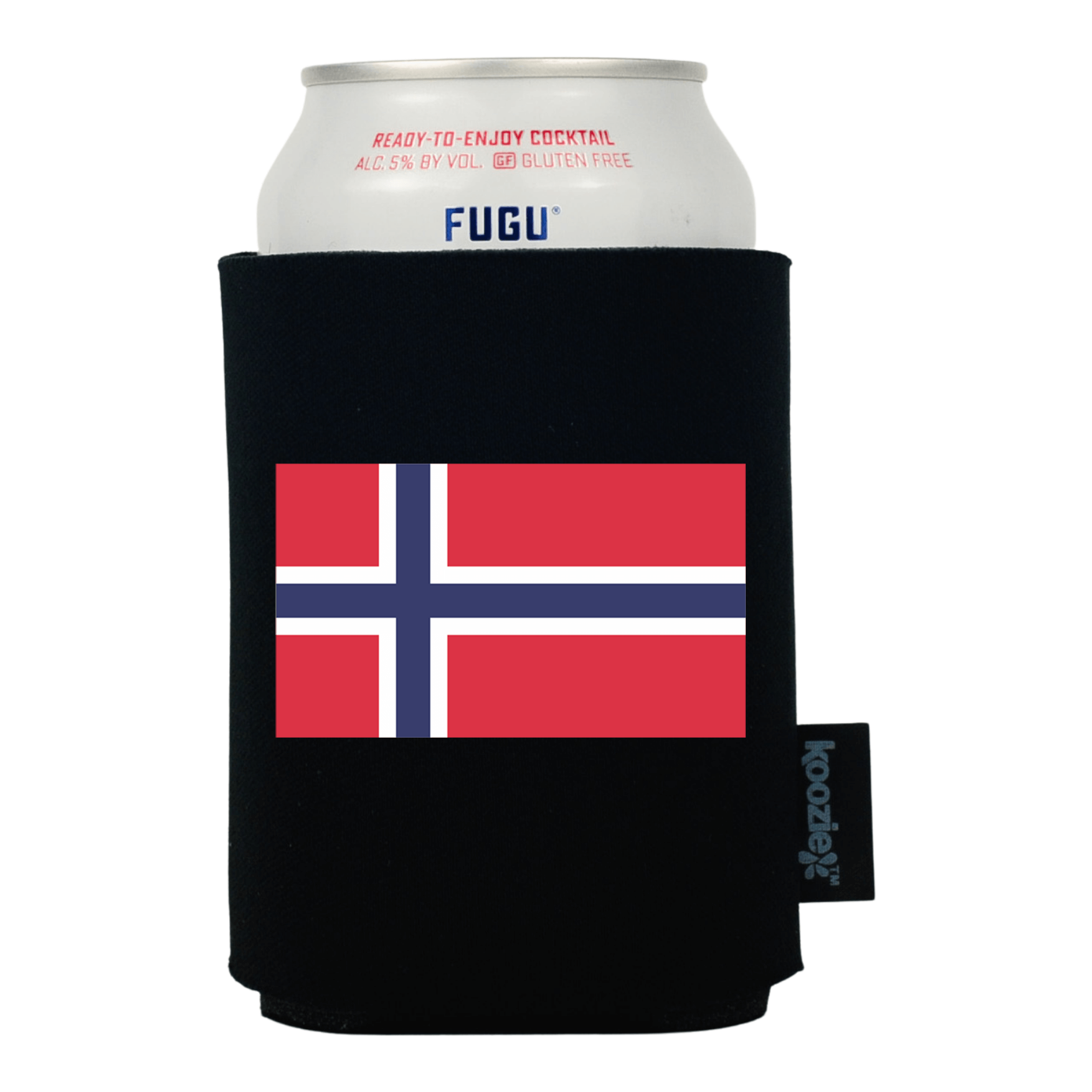 Koozie® Norway Country Flag Drink Cooler