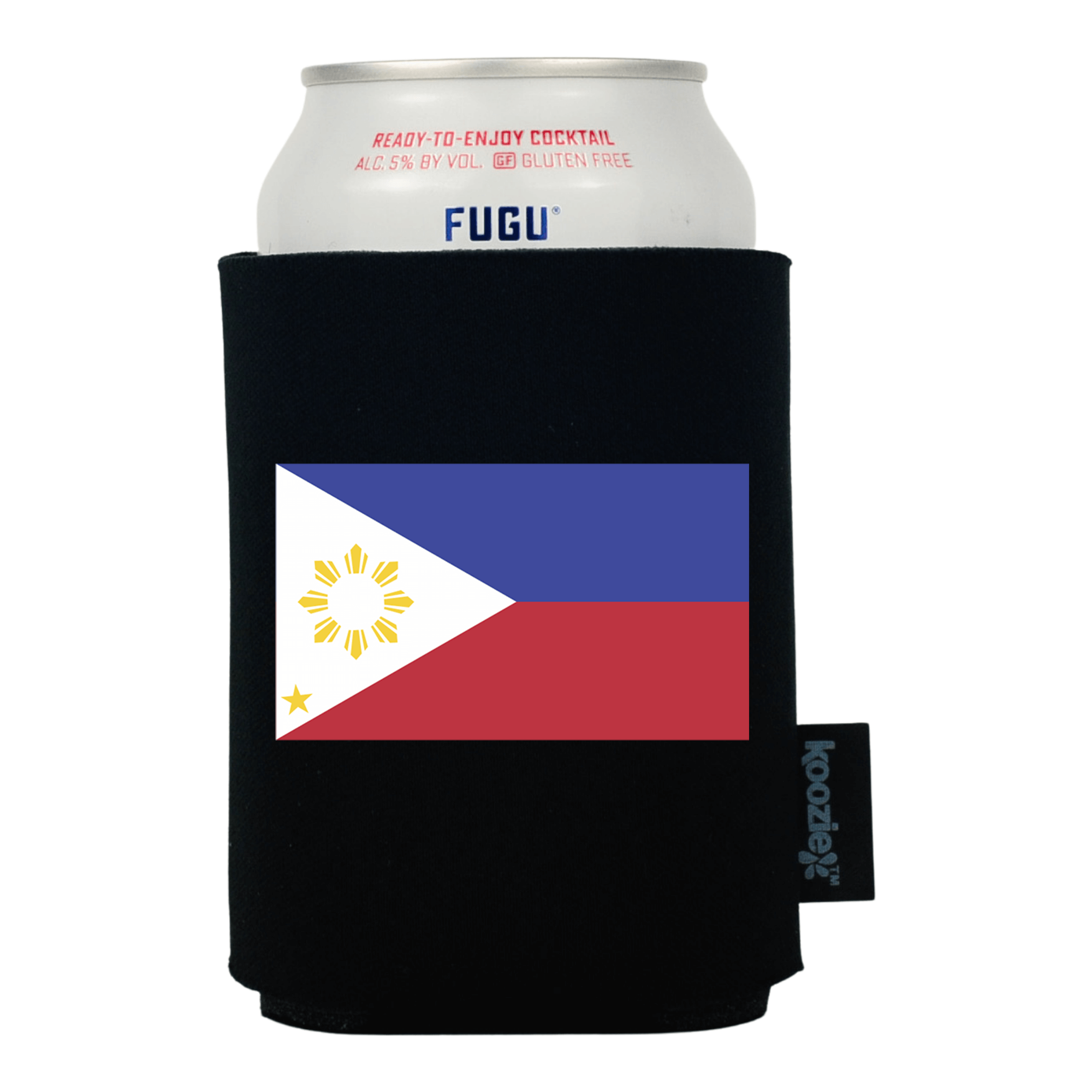Koozie® Philippines Country Flag Drink Cooler