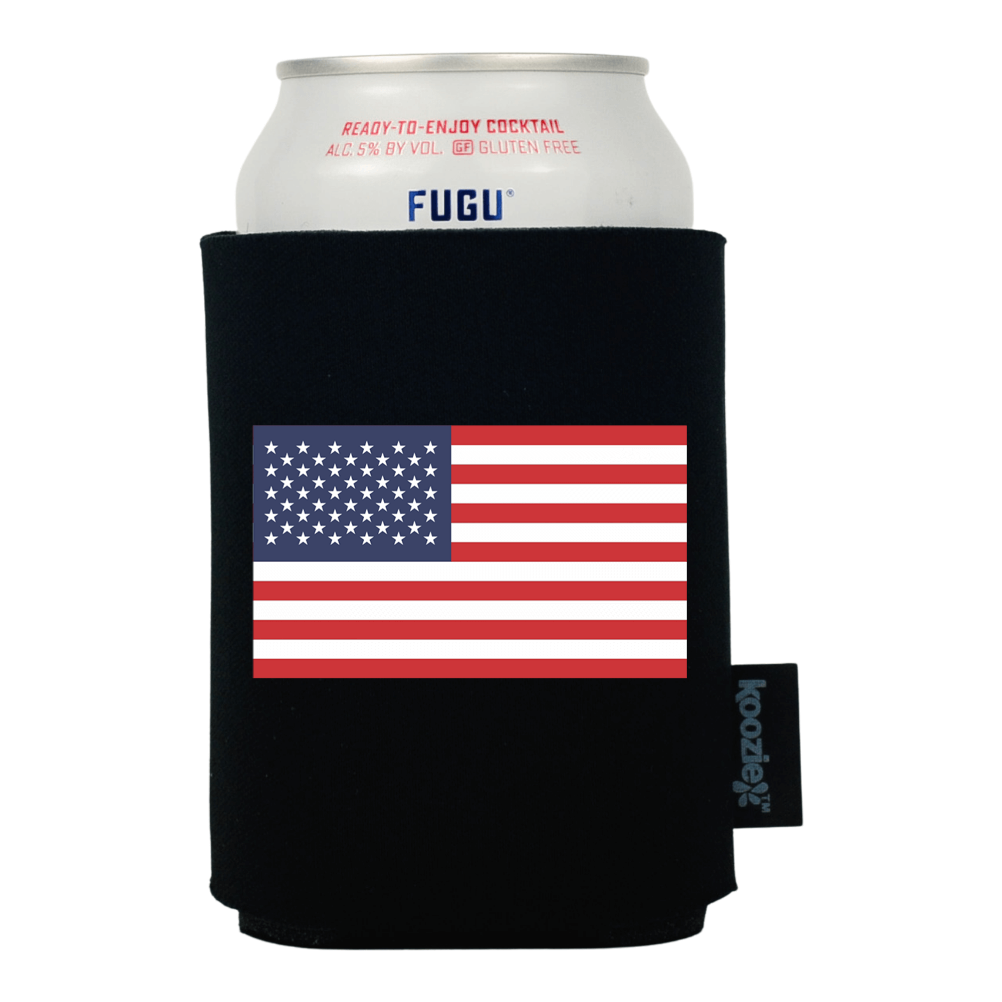 Koozie® United States Country Flag Drink Cooler