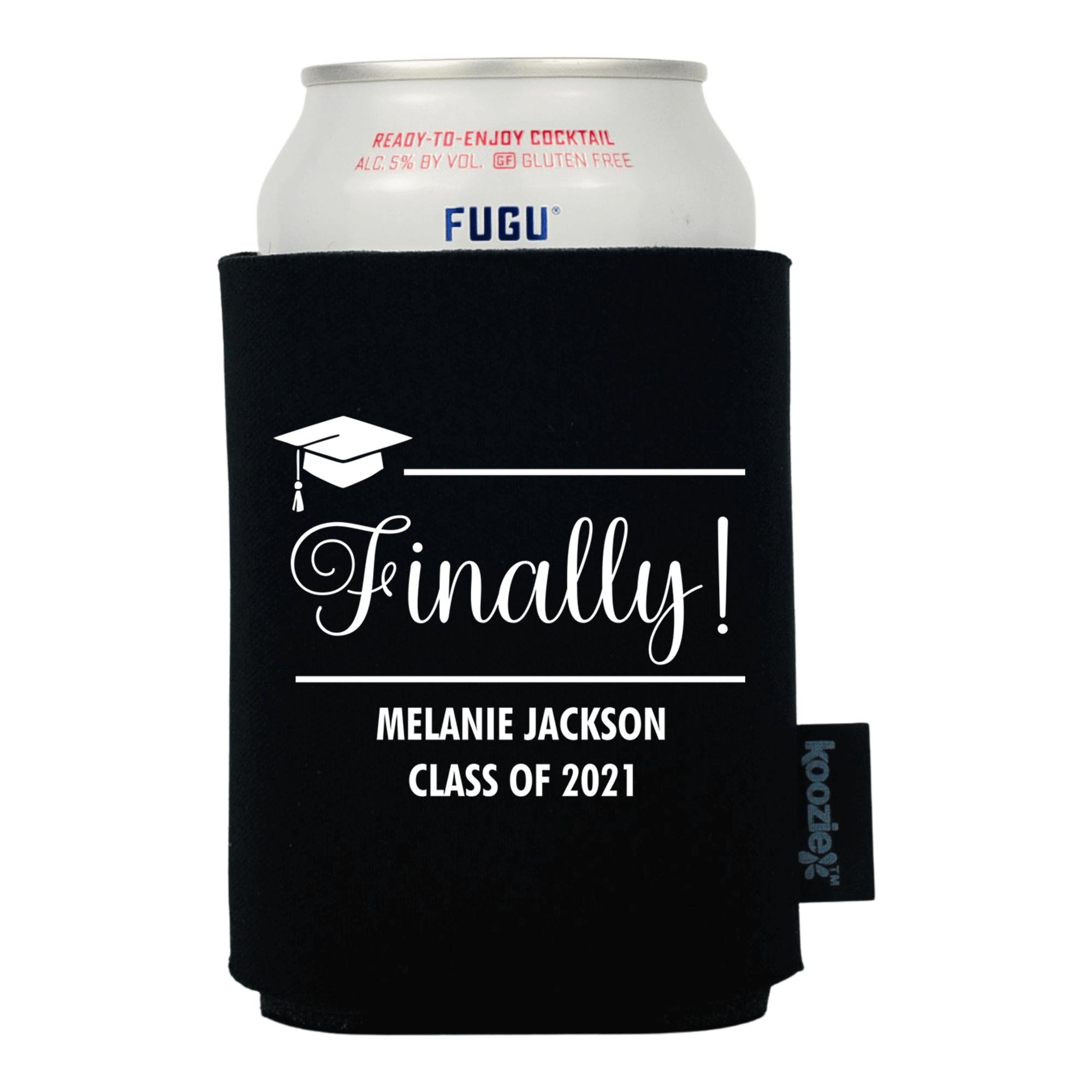 Koozie® Finally! Graduation Drink Cooler