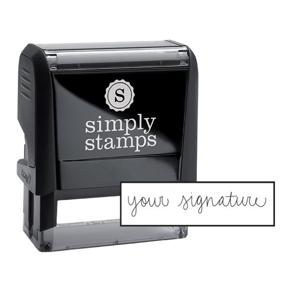 Large Signature Stamp