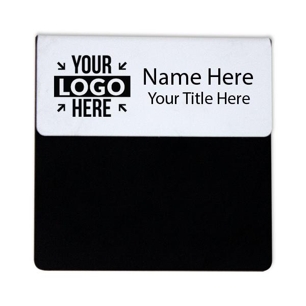 """Laser Engraved Pocket Badge - 1.25"""" x 3"""""""