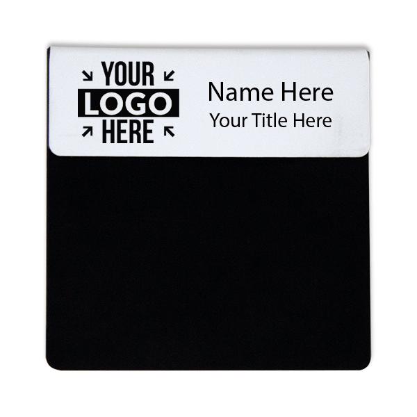 """Laser Engraved Pocket Badge - 1"""" x 3"""""""