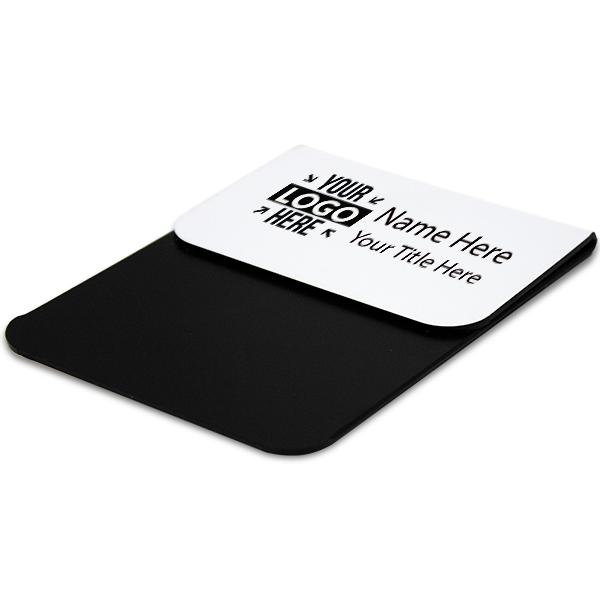 """Laser Engraved Pocket Badge - 2"""" x 3"""" Corner Angle"""