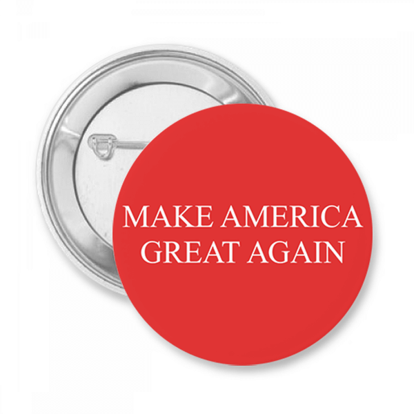 Make American Great Again Button