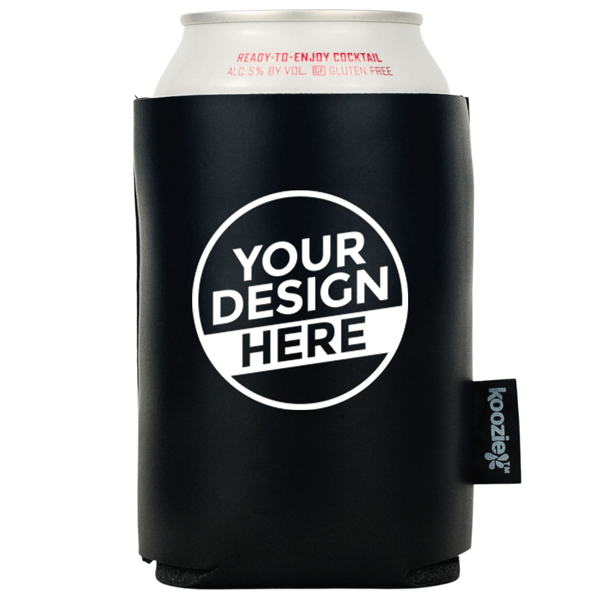Koozie® Vegan Leather Single Sided Can Cooler