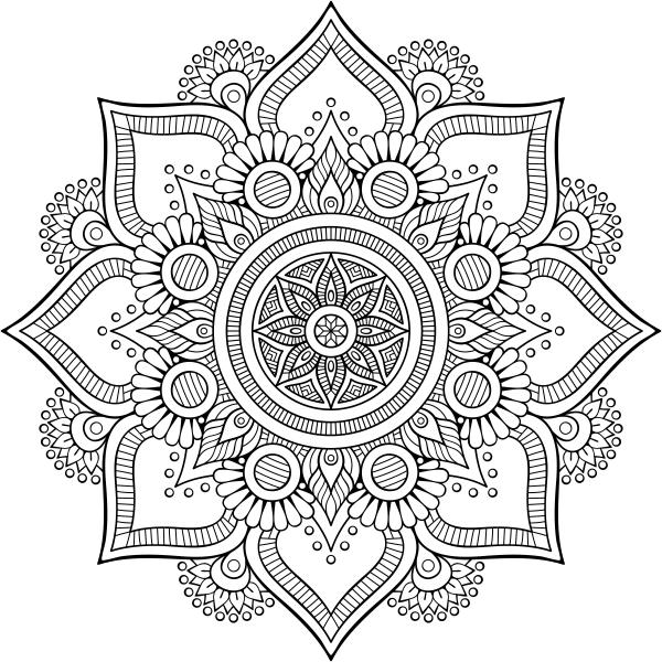 Mandala Stamp