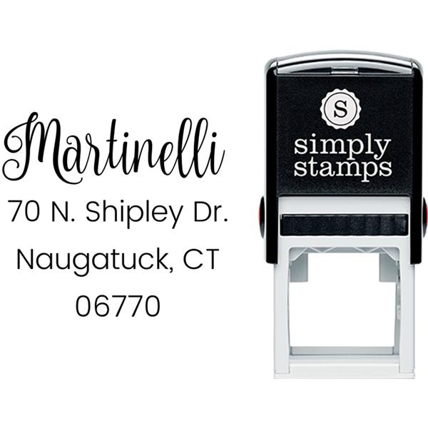 Martinelli Address Stamp