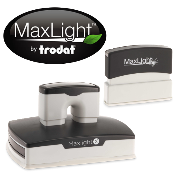 Maxlight Pre-Inked Rectangular Stamps