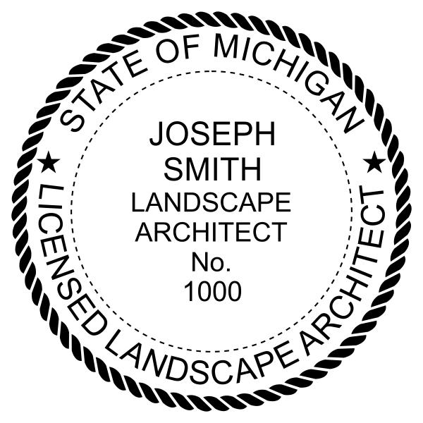 State of Michigan Landscape Architect