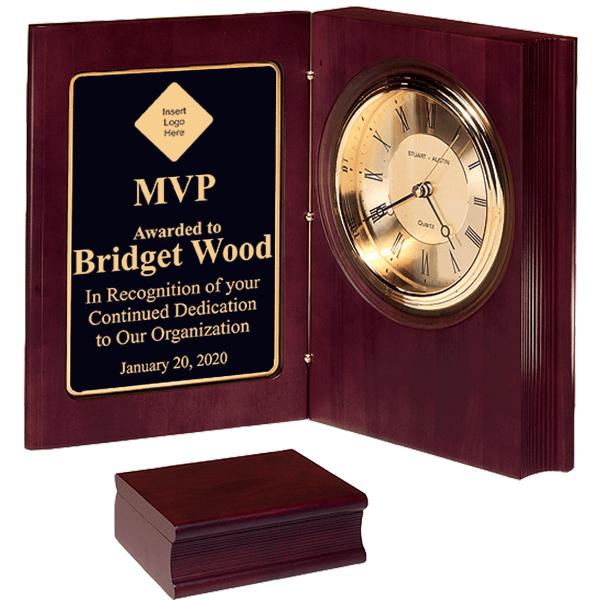 Most Valuable Person Desk Book Clock